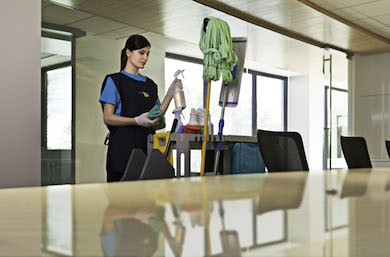 Commercial Cleaning Dayporter in Wichita KS